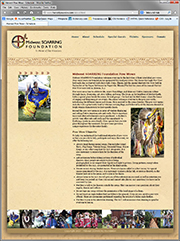 Harvest Pow Wow Secondary Page