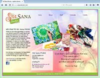 Sol Sana Studio Website